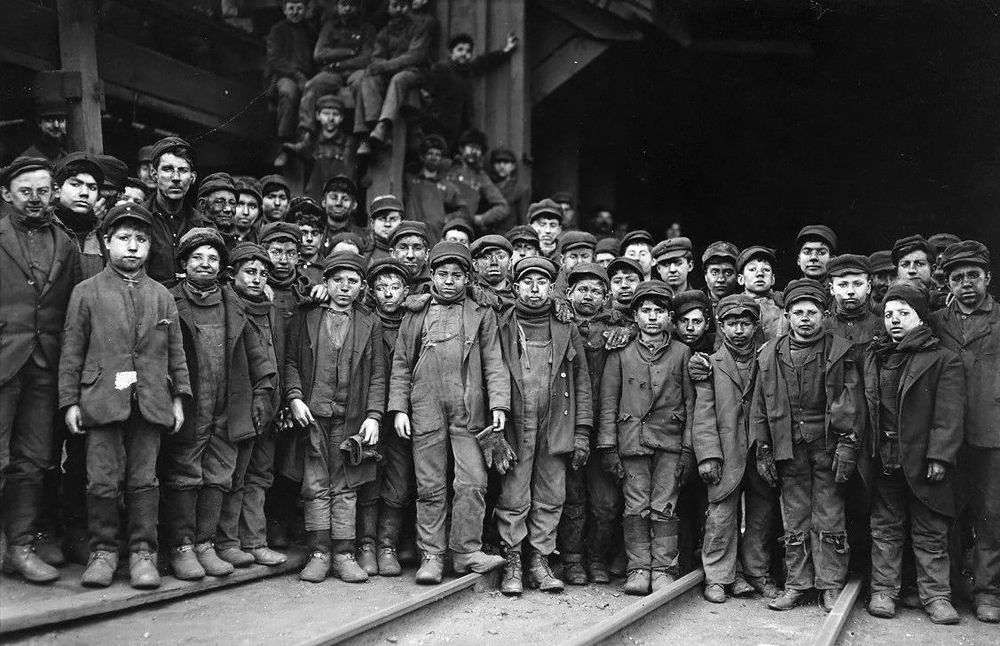 Etats-Unis : en 1900, 18 % des travailleurs étaient des enfants de moins de 16 ans