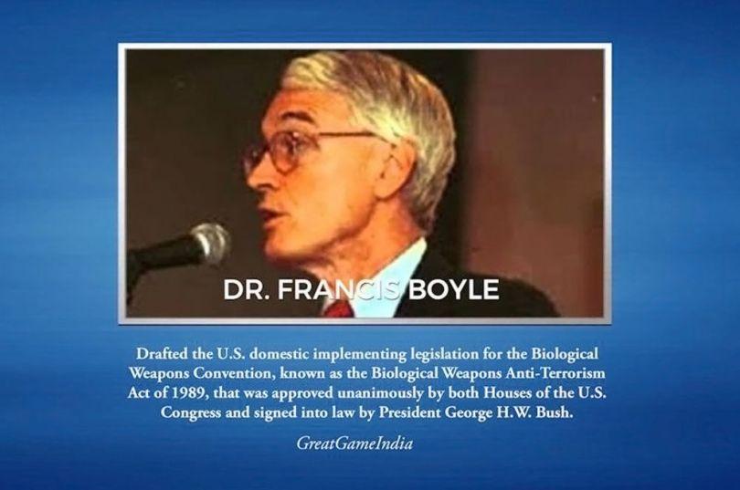 Dr Francis Boyle : le coronavirus est une arme de guerre biologique Coronavirus-1-1