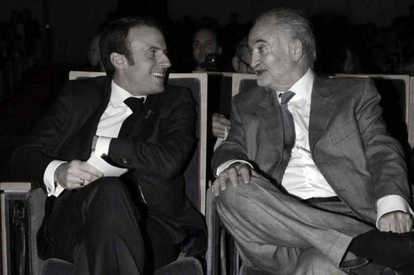 Emmanuel Macron - Jacques Attali