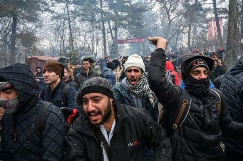 Grèce - Migrants