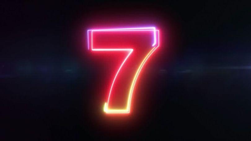 Nombre 7 - 1
