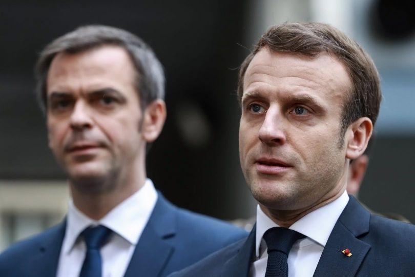 Emmanuel Macron - Jérôme Salomon