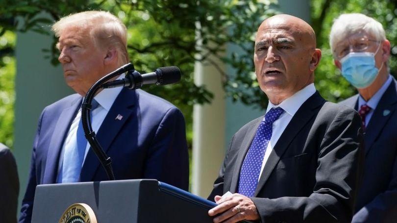 Donald Trump - Dr Moncef Slaoui - 2