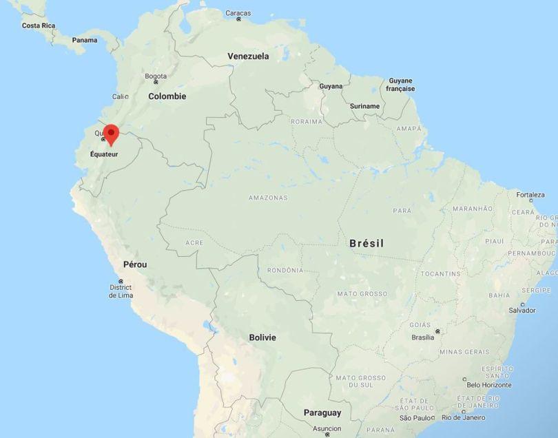 Map - Equateur