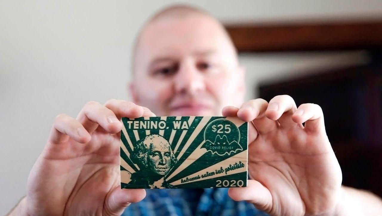 États-Unis : dans la ville de Tenino, on paie avec des dollars en bois [Vidéos]