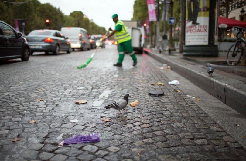 Paris - Balayeur