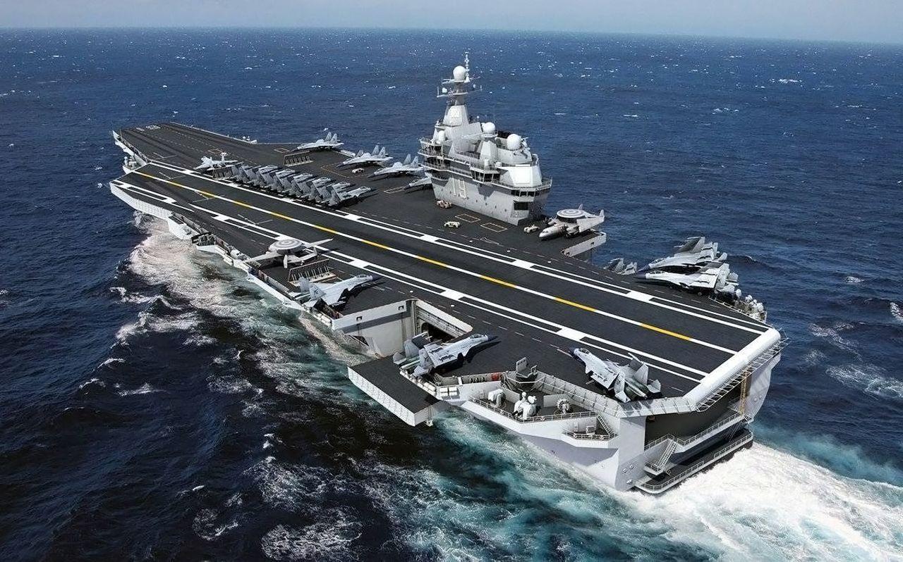 Chine : Pékin annonce officieusement le lancement d'un troisième porte-avions gigantesque [Vidéos]