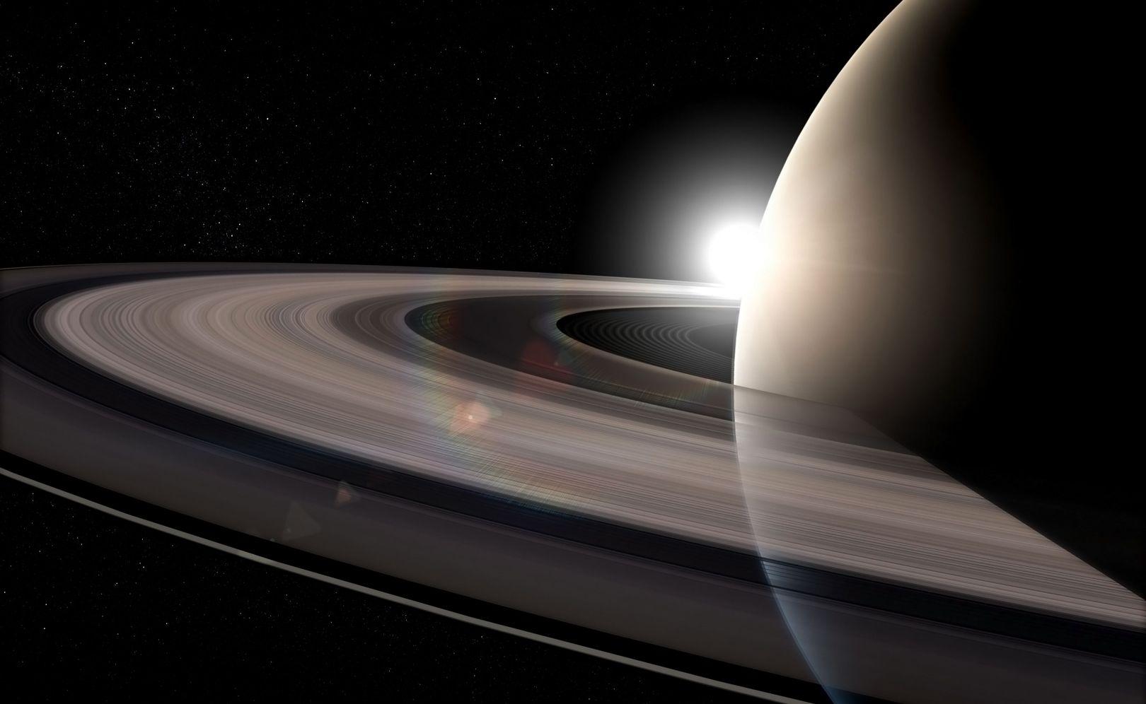 Saturne bascule à cause de ses satellites [Vidéo]