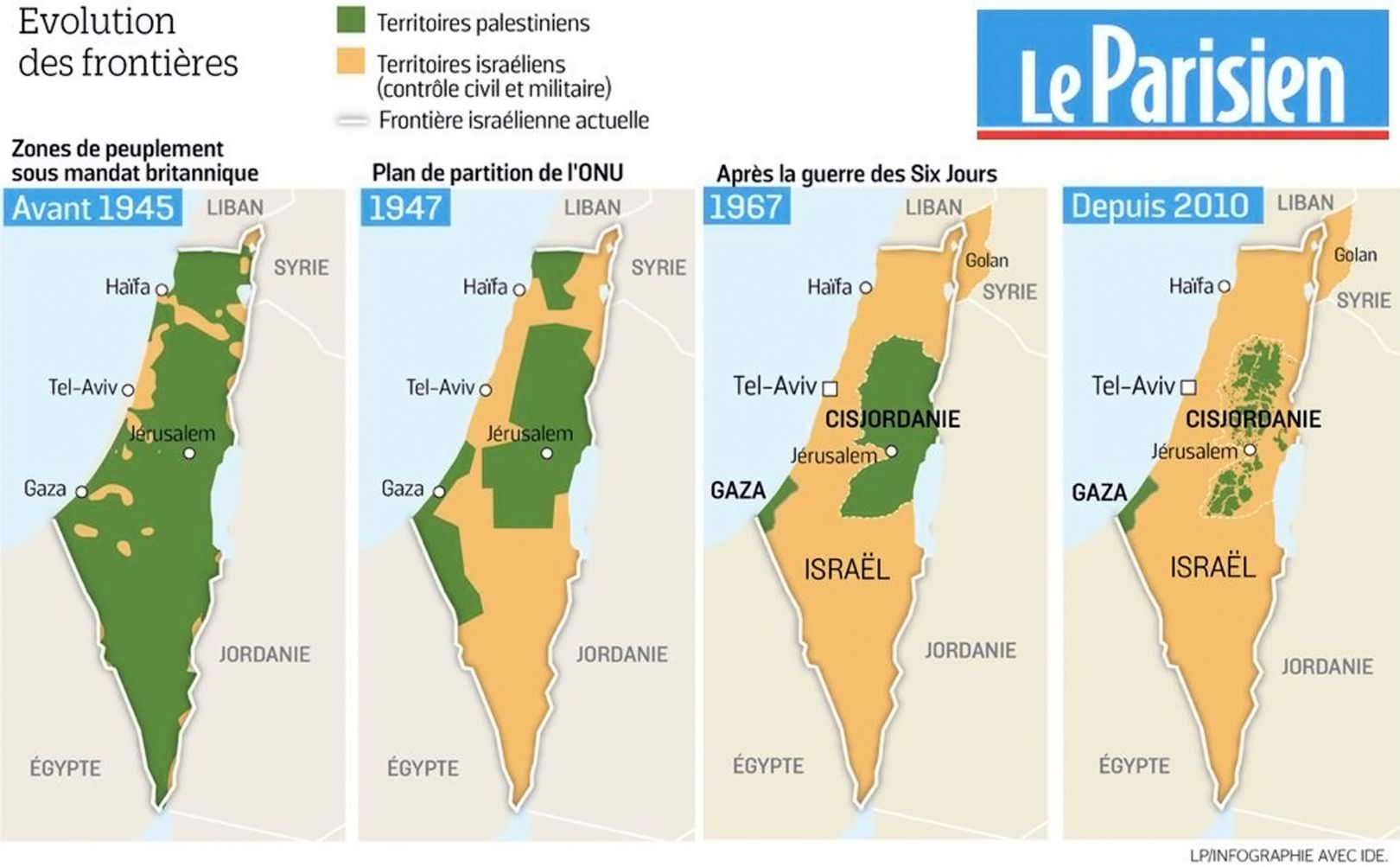 Map Palestine