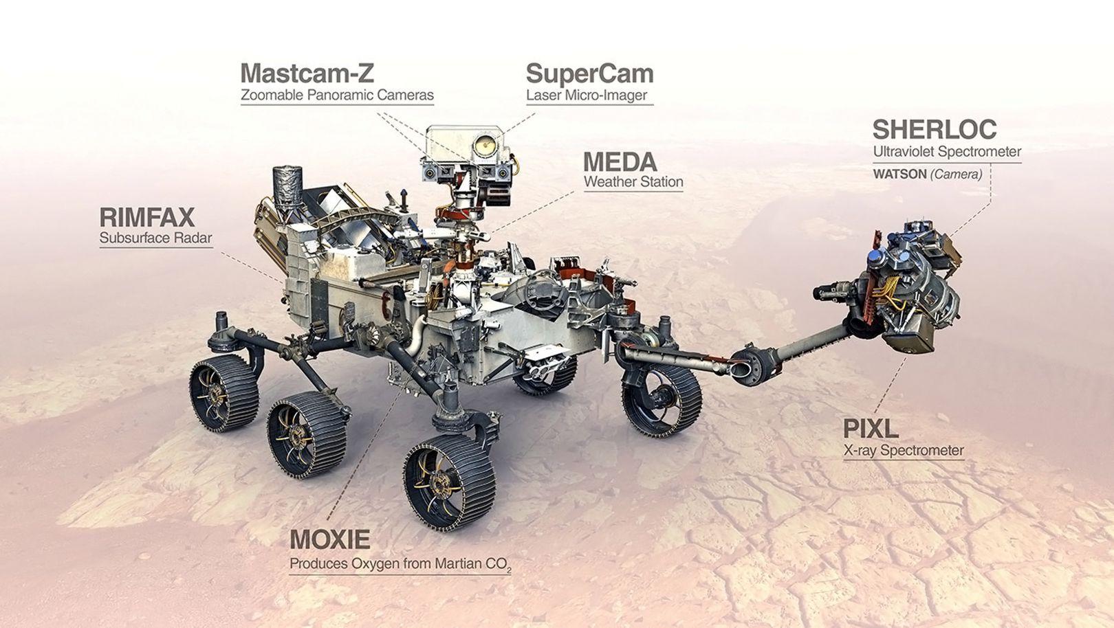 rover Perseverance - 1