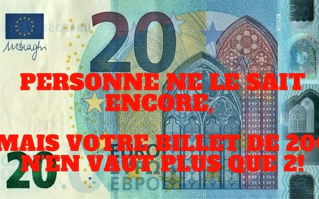 Billet 20 euros - 1