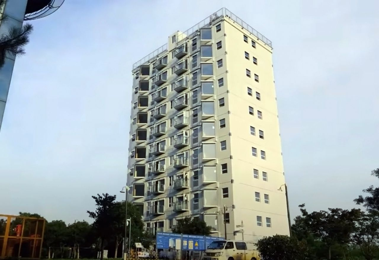Immeuble – Chine - 1