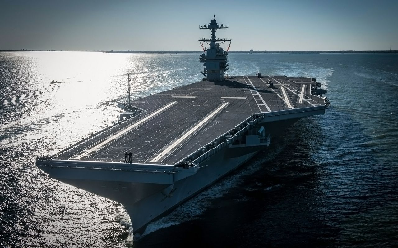 USS Gerald R Ford - 2